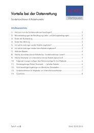 Rabatte und Sonderkonditionen (PDF)