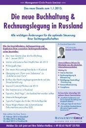 Die neue Buchhaltung & Rechnungslegung in Russland - belarus ...