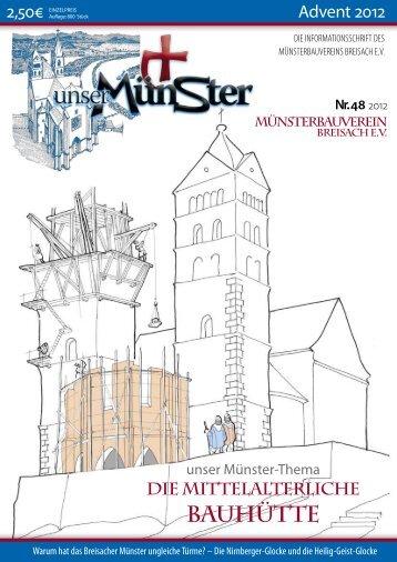 BAUHüTTE - Münsterbauverein Breisach eV