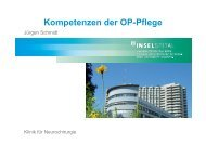 Kompetenzen der OP-Pflege - ig-nopps.ch