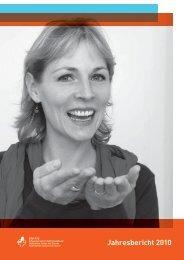 Jahresbericht 2010 - beim Schweizerischen Gehörlosenbund
