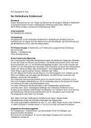 FCI Standard Holländischer Schäferhund
