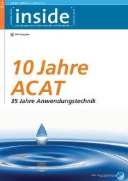 1. Ausgabe - Applied Chemicals International ACAT
