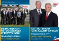 Kandidaten WK2 Vorstellung der Kandidaten für ... - CDU Oststeinbek