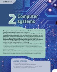 BTEC Level 3 National IT Student Book Unit 2 Computer Systems