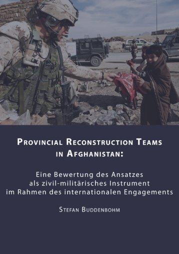 Regionale Wiederaufbauteams in Afghanistan - SSOAR