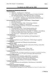 3. GT: Geschichte BRD und DDR - Timswelt.info