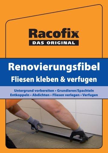 Renovierungsfibel - Racofix Bauchemie