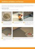 Renovierungsfibel - Racofix Bauchemie - Seite 6