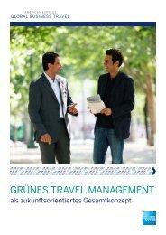 grünes travel management - American Express Global Business ...