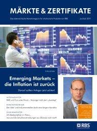 MbRKTE & ZERTIFIKATE - RBS Markets - Österreich