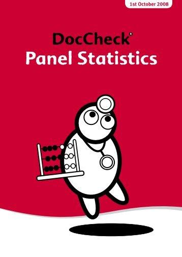Panel Statistics - Doccheck