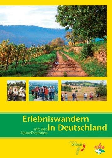 Erlebniswandern in Deutschland - NaturFreunde Deutschlands