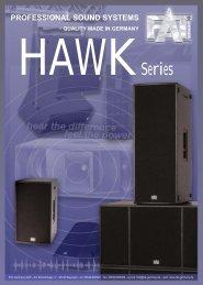 FAT-GERMANY HAWK-Serie - ETHA international GmbH & Co. KG