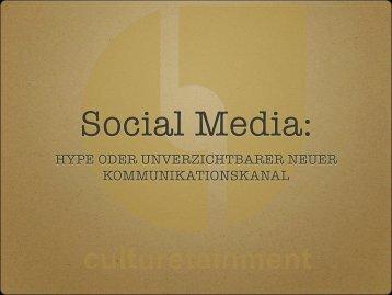 hype oder unverzichtbarer neuer kommunikationskanal