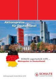 Aktionspreise für Deutschland! - Schulte Lagertechnik