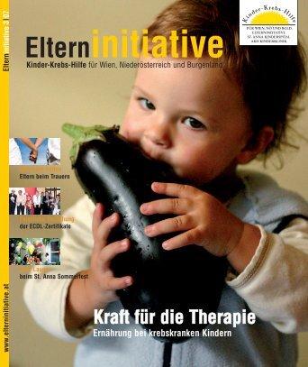 Kraft für die Therapie - Kinder-Krebs-Hilfe Elterninitiative