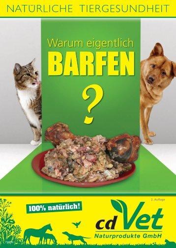 BARFEN - cdVet Naturprodukte GmbH