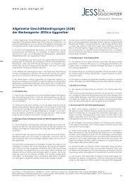 Allgemeine Geschäftsbedingungen (AGB) der Werbeagentur ...
