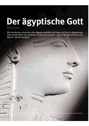 Der ägyptische Gott - Abenteuer Philosophie
