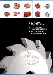 HM Plaketli Profil Freze Bıçağı - Ergilsan
