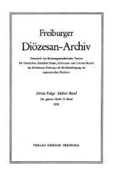 Freiburger Diözesan-Archiv ; Band 75 (1955) - FreiDok
