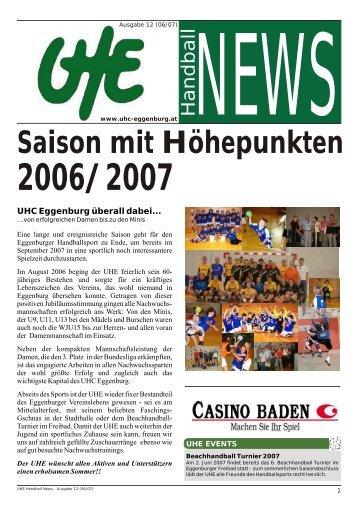 UHE Handball News #12 - hoststar
