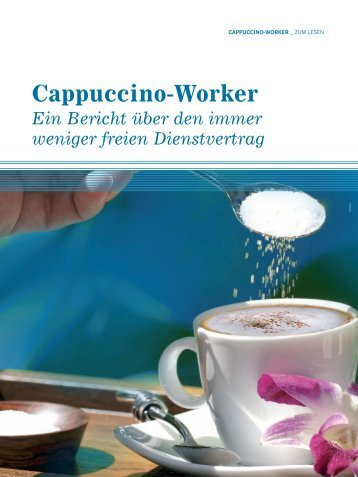 Cappuccino-Worker - Intre