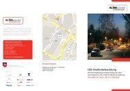 LED-Straßenbeleuchtung - KuK Klimawandel und Kommunen
