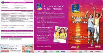 Raiffeisen Frauenlauf - Business frauen Center Kärnten