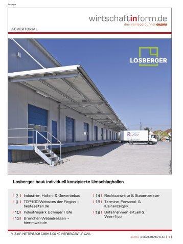 Industrie-, Hallen- & Gewerbebau I wirtschaftinform.de 09.2013