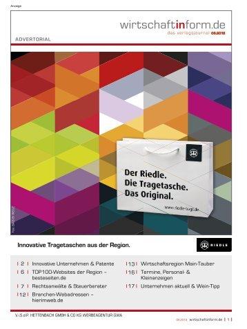 Innovative Unternehmen & Patente I wirtschaftinform.de 06.2013