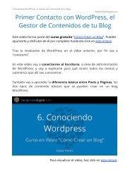 Tutorial WordPress - Curso Gratis en Video