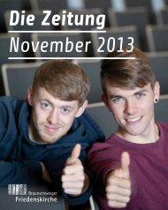 BSFK - Die Zeitung - November 2013