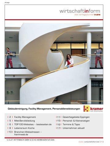 Facility Management I wirtschaftinform.de 01.2013