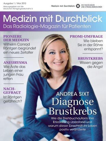 "Patientenmagazin ""Medizin mit Durchblick"" - 1. Ausgabe Mai 2013"
