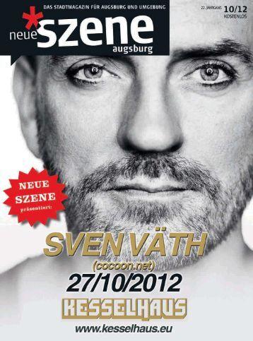 Stadtmagazin Neue Szene Augsburg 2012-10