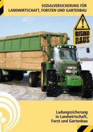 Ladungssicherung in Landwirtschaft, Forst und Gartenbau
