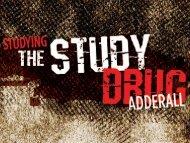 Adderall - The Study Drug