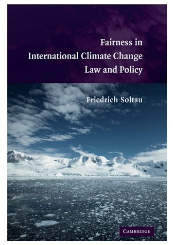 Fairness in International Climate Change Law and Policy - Global ...