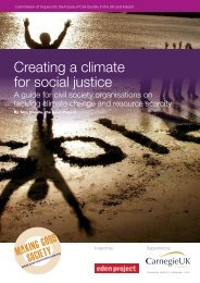 Creating a climate for social justice - Carnegie UK Trust