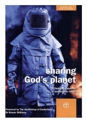 Sharing God's Planet - Global Commons Institute