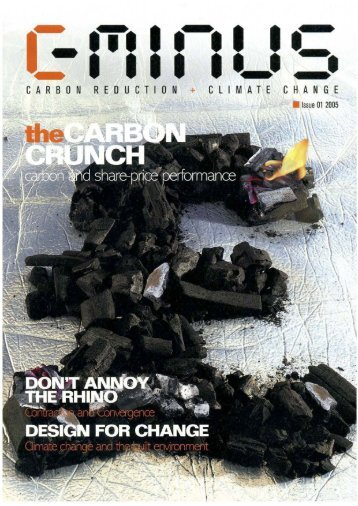 Don't Annoy the Rhino - Global Commons Institute