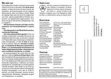 Wir über uns - Berlin - Gesellschaft für Christlich-Jüdische ...