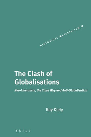 The Clash Of Globalisations - Global Commons Institute