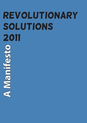 Revolutionary Solutions 2011 - Global Commons Institute