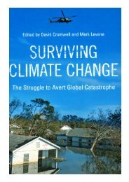 Surviving Climate Change - Global Commons Institute