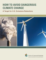 How to Avoid Dangerous Climate Change - Union of Concerned ...