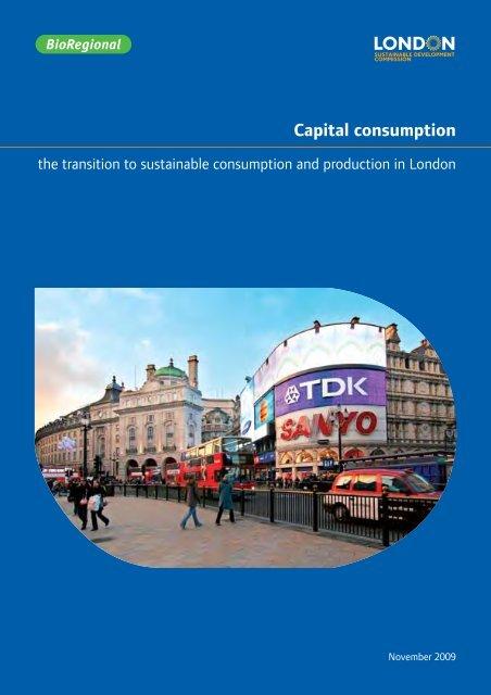 Capital consumption - London Sustainable Development Commission