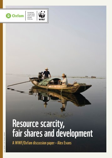 Resource scarcity, fair shares and development - WWF UK